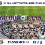 50.000 FANS, 50.000 GRACIAS