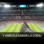 Nueva canción de la Grada FANS RMCF: Y vamos a ganar la Copa