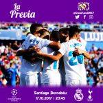 Previa Real Madrid-Tottenham: A por el liderato del grupo
