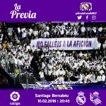 Previa Real Madrid-Real Sociedad: Te toca no fallar a la afición
