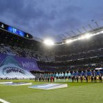 Tifo Real Madrid-Juventus